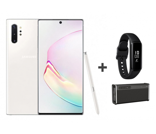 Samsung Galaxy Note 10+ white +Creative iRoar Go+ Fit e - 539475 - zdjęcie