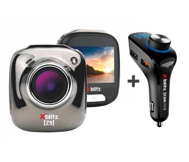 """Xblitz Z9 Full HD/2""""/140 + x300 pro Transmiter  - 508115 - zdjęcie"""