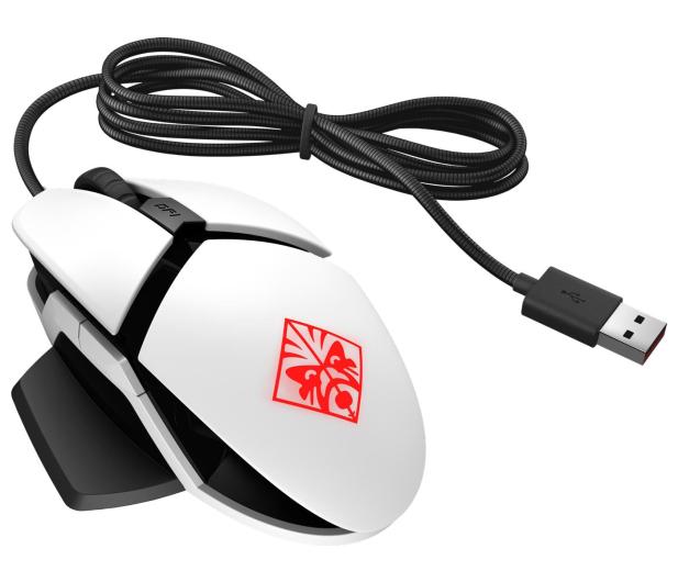 HP OMEN Reactor Mouse (biała) - 539403 - zdjęcie 2