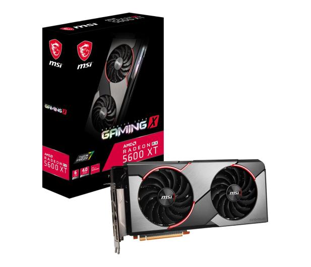 MSI Radeon RX 5600 XT GAMING X 6GB GDDR6 - 539800 - zdjęcie