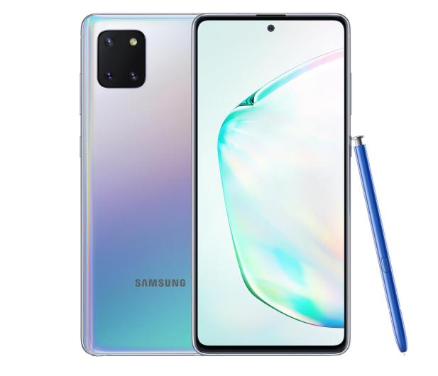 Samsung Galaxy Note 10 Lite N770F Silver - 536271 - zdjęcie