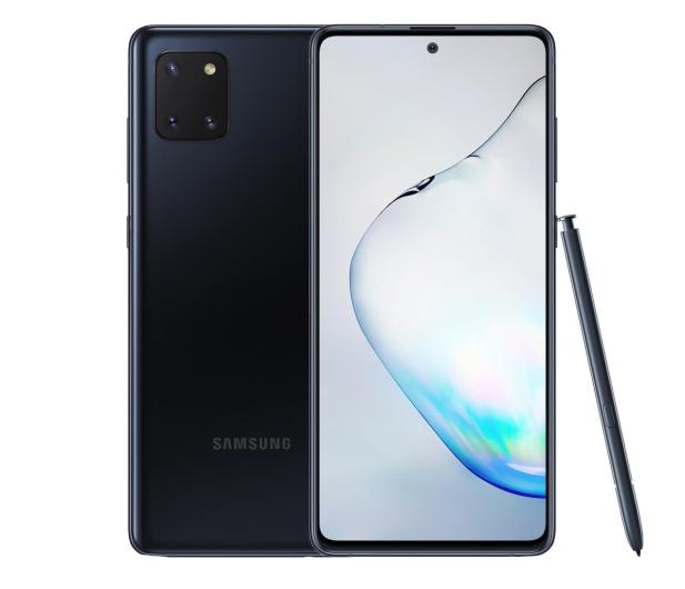 Samsung Galaxy Note 10 Lite N770F Black - 536269 - zdjęcie