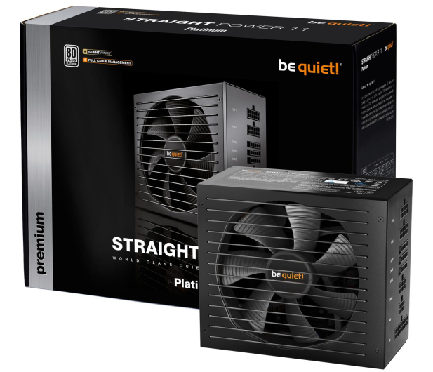 be quiet! Straight Power 11 650W 80 Plus Platinum - 540592 - zdjęcie 4