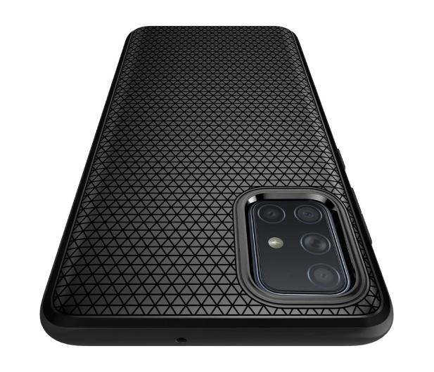Spigen Liquid Air do Samsung Galaxy A71 czarny - 540644 - zdjęcie 4
