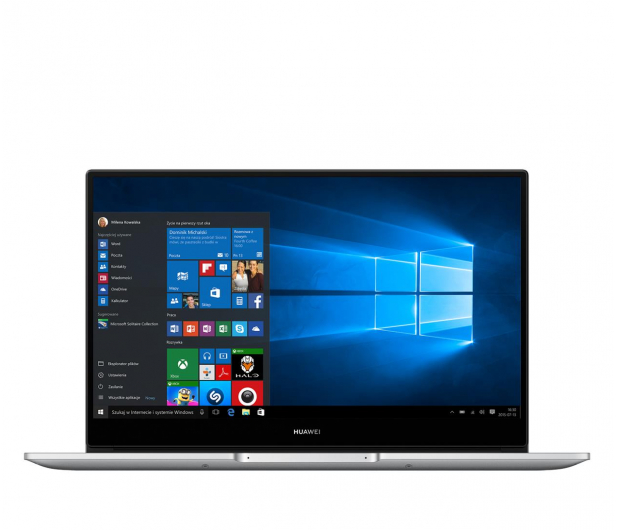 Huawei MateBook D 14 i5-10210U/8GB/480/Win10 srebrny - 603903 - zdjęcie