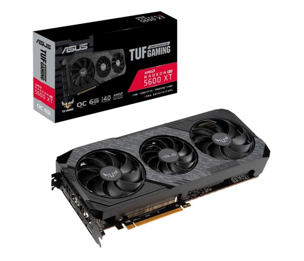 ASUS Radeon RX 5600 XT TUF Gaming EVO OC 6GB GDDR6 - 538342 - zdjęcie