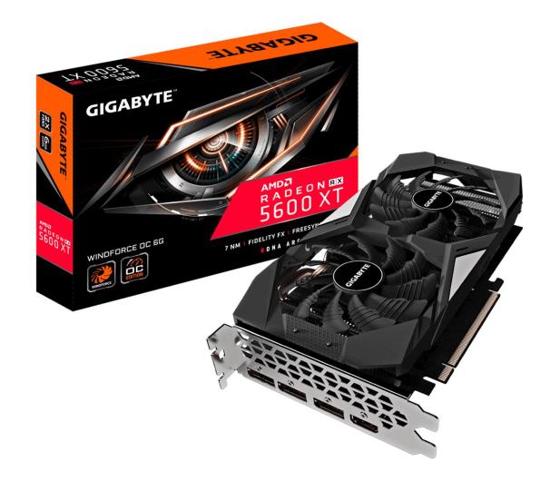 Gigabyte Radeon RX 5600 XT WINDFORCE OC 6GB GDDR6 - 540866 - zdjęcie