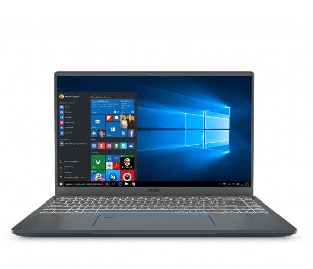 MSI Prestige 14 i7-10710U/16GB/512/Win10 GTX1650 - 533760 - zdjęcie