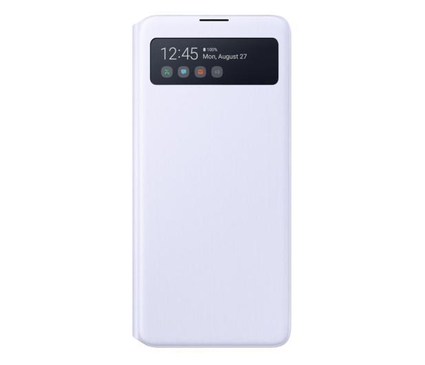 Samsung S View Wallet Cover do Galaxy Note 10 Lite biały - 540828 - zdjęcie