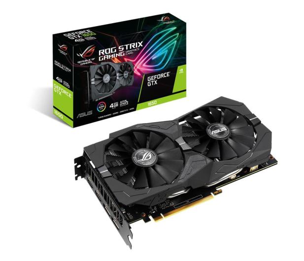 ASUS GeForce GTX 1650 ROG Strix Gaming 4GB GDDR5 - 541511 - zdjęcie