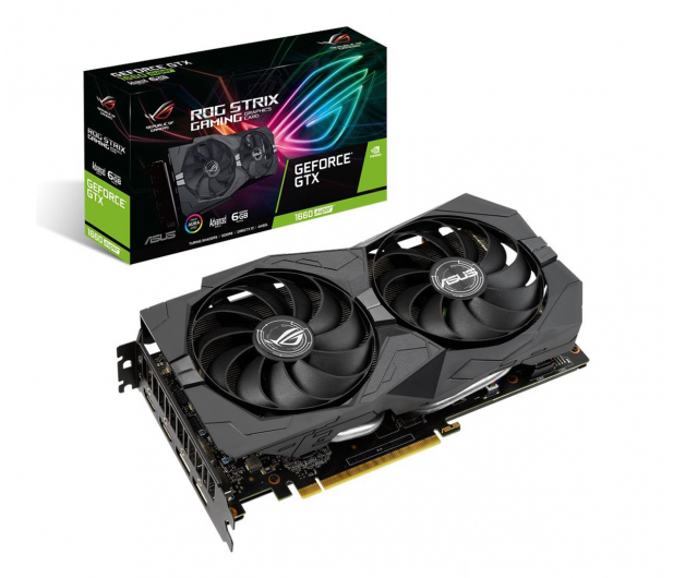 ASUS GeForce GTX 1660 SUPER ROG Advanced 6GB GDDR6 - 541529 - zdjęcie