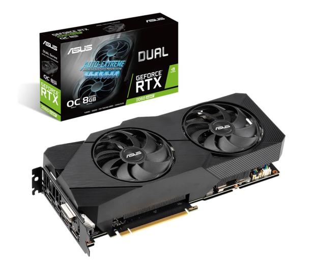 ASUS GeForce RTX 2060 SUPER DUAL EVO OC 8GB GDDR6 - 541538 - zdjęcie