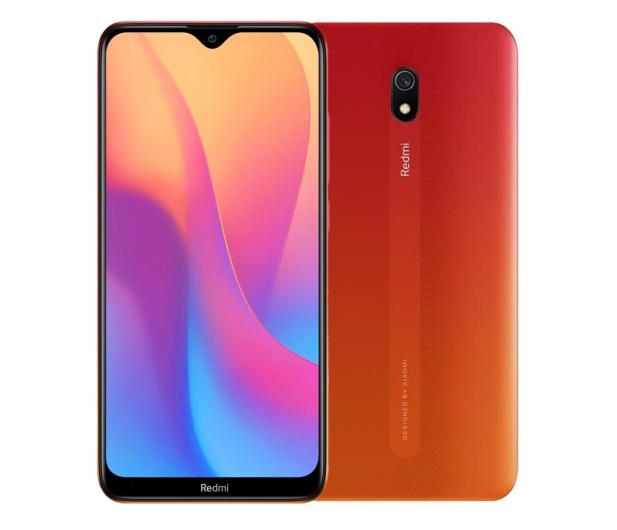 Xiaomi Redmi 8A 2/32GB Sunset Red - 537327 - zdjęcie