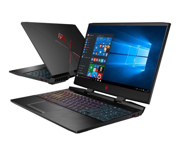 HP OMEN 15 i7-9750H/16GB/512/Win10x RTX2070 144Hz - 541704 - zdjęcie