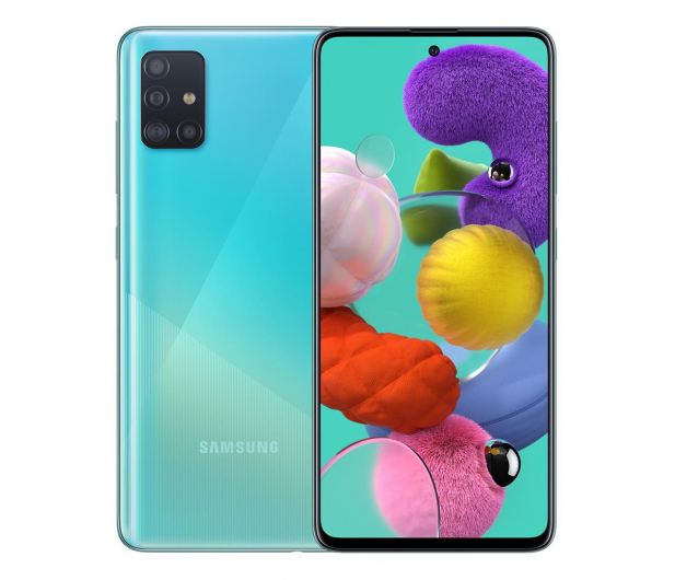 Samsung Galaxy A51 SM-A515F Blue - 536259 - zdjęcie