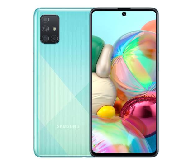 Samsung Galaxy A71 SM-A715F Blue - 536262 - zdjęcie