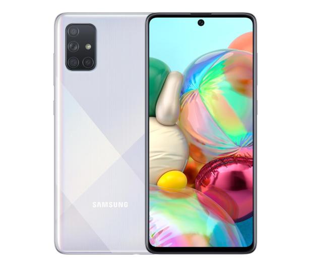 Samsung Galaxy A71 SM-A715F Silver - 536265 - zdjęcie