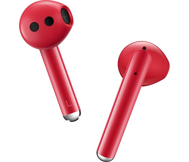 Huawei FreeBuds 3 czerwony - 539111 - zdjęcie 3