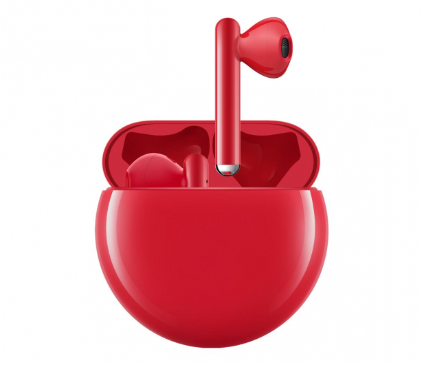 Huawei FreeBuds 3 czerwony - 539111 - zdjęcie