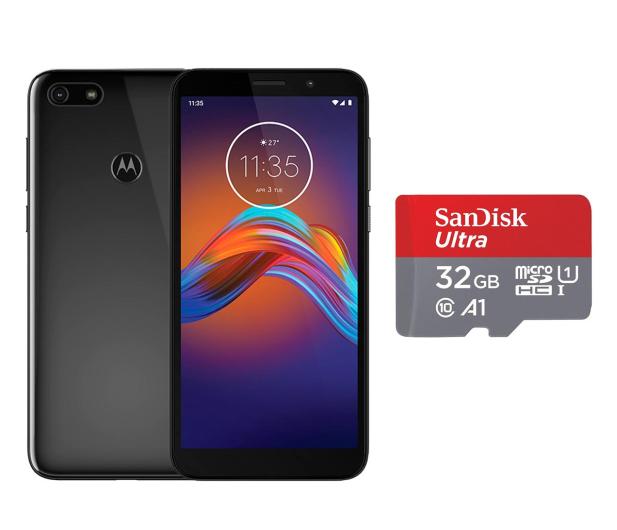 Motorola Moto E6 Play 2/32GB Dual SIM Steel Black + 32GB - 543223 - zdjęcie