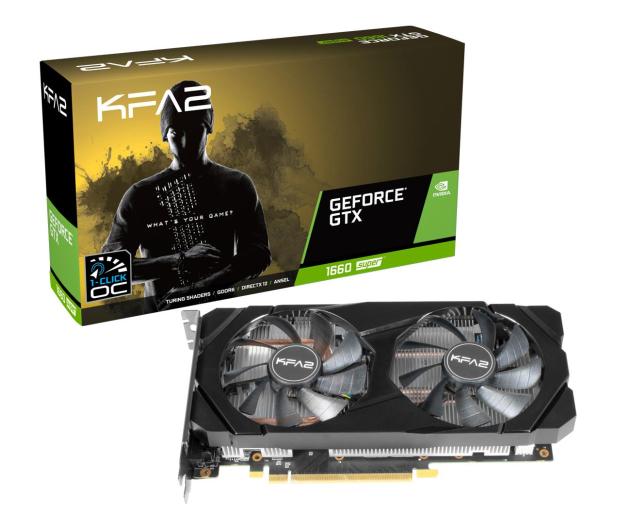 KFA2 GeForce GTX 1660 SUPER 1-Click OC 6GB GDDR6 - 524622 - zdjęcie