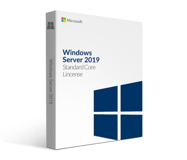 Microsoft Windows Server 2019 Standard x64 16Core PL OEM - 508670 - zdjęcie
