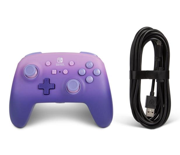 PowerA SWITCH Pad przewodowy Lilac Fantasy - 597174 - zdjęcie 7