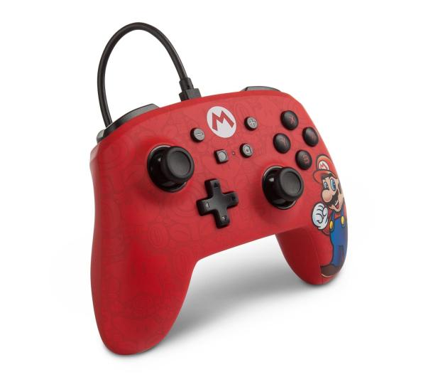 PowerA SWITCH Pad przewodowy Mario - 597175 - zdjęcie 4