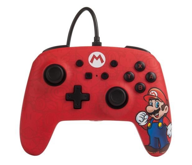 PowerA SWITCH Pad przewodowy Mario - 597175 - zdjęcie