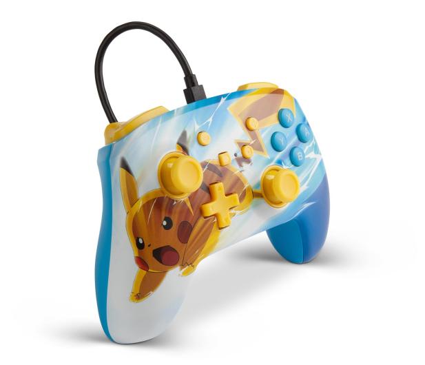 PowerA SWITCH Pad przewodowy Pokemon Pikachu Charge - 597179 - zdjęcie 3