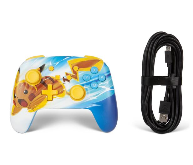 PowerA SWITCH Pad przewodowy Pokemon Pikachu Charge - 597179 - zdjęcie 8