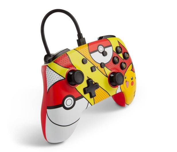 PowerA SWITCH Pad przewodowy Pokemon Pikachu Pop - 597181 - zdjęcie 4
