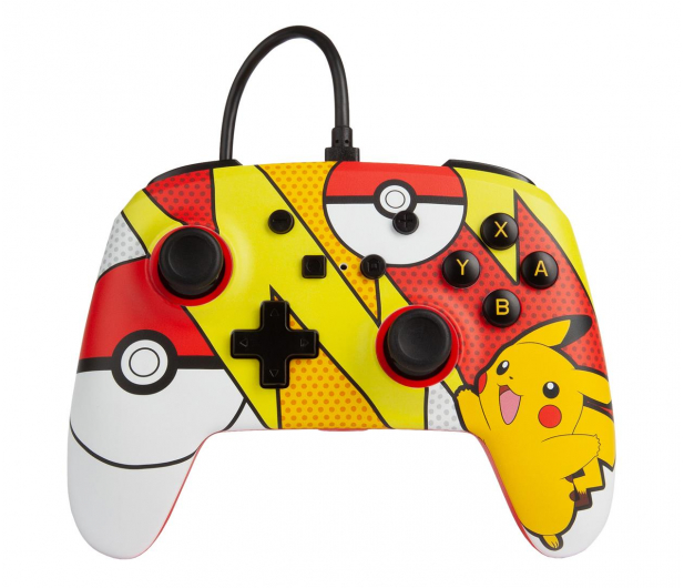 PowerA SWITCH Pad przewodowy Pokemon Pikachu Pop - 597181 - zdjęcie