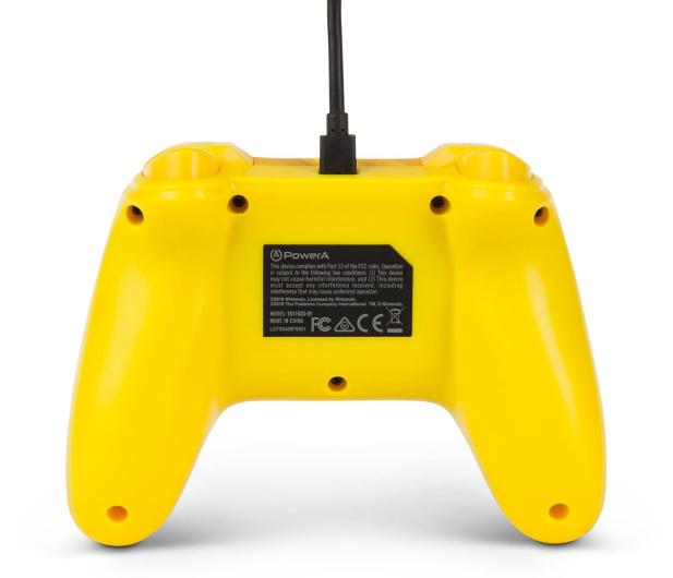 PowerA SWITCH Pad przewodowy Pokemon Static Pikachu - 597183 - zdjęcie 8