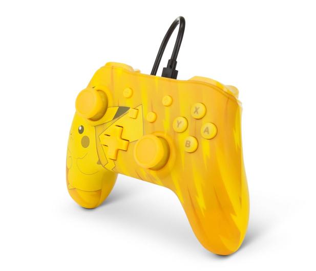 PowerA SWITCH Pad przewodowy Pokemon Static Pikachu - 597183 - zdjęcie 3