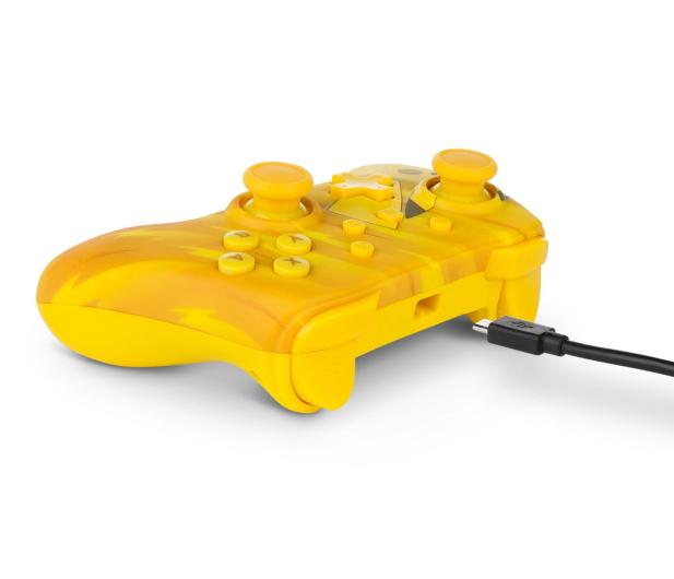 PowerA SWITCH Pad przewodowy Pokemon Static Pikachu - 597183 - zdjęcie 7