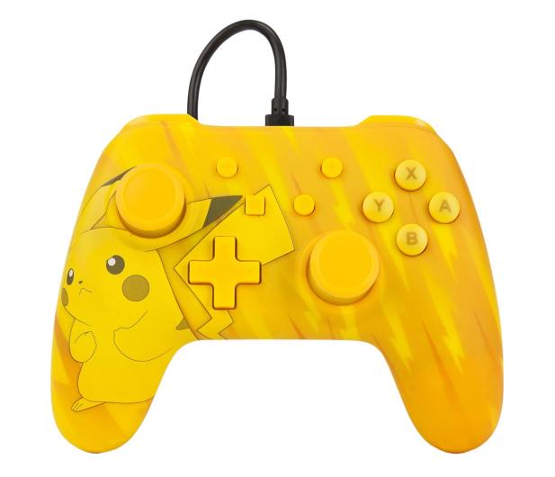 PowerA SWITCH Pad przewodowy Pokemon Static Pikachu - 597183 - zdjęcie