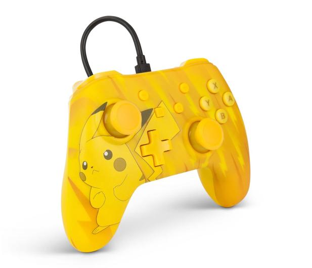 PowerA SWITCH Pad przewodowy Pokemon Static Pikachu - 597183 - zdjęcie 4