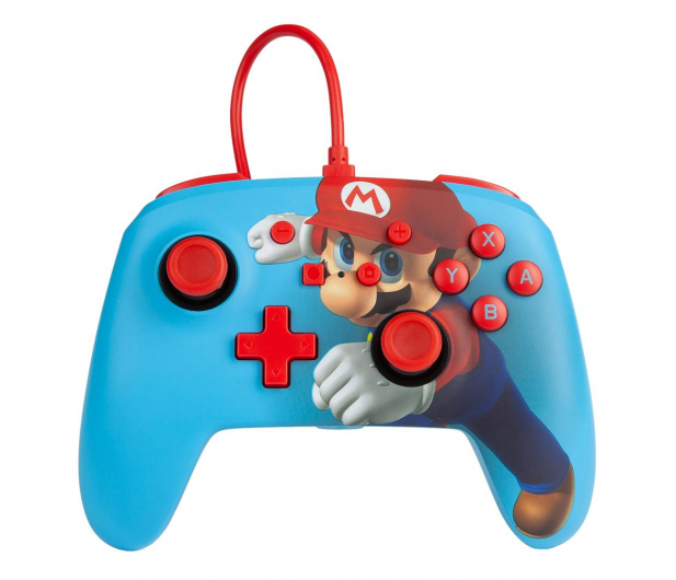 PowerA SWITCH Pad przewodowy Super Mario Punch - 597185 - zdjęcie