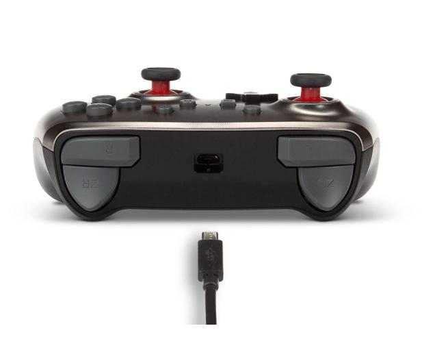 PowerA SWITCH Pad przewodowy Super Mario Silver - 597186 - zdjęcie 6
