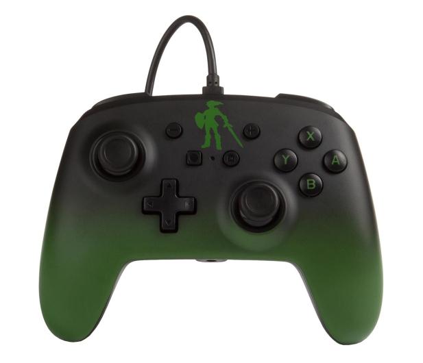 PowerA SWITCH Pad przewodowy Zelda Link Fade - 597187 - zdjęcie