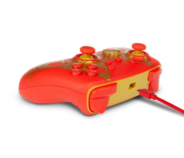 PowerA SWITCH Pad przewodowy Super Mario Golden M - 597184 - zdjęcie 7