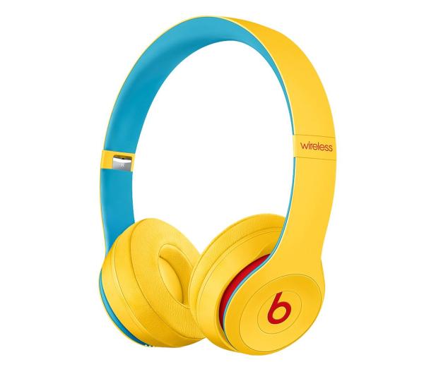 Apple Beats Solo3 Wireless On-Ear Club Żółte - 596636 - zdjęcie