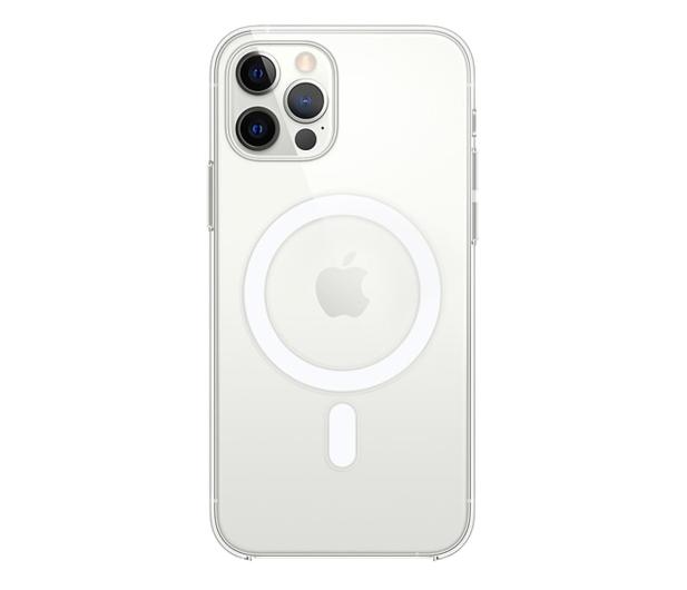 Apple Przezroczyste etui iPhone 12|12Pro - 598788 - zdjęcie
