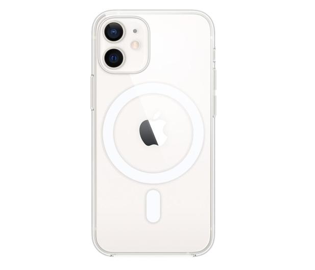 Apple Przezroczyste etui iPhone 12 mini - 598787 - zdjęcie