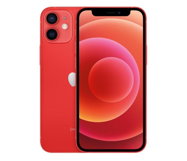 Apple iPhone 12 Mini 256GB (PRODUCT)Red 5G - 592142 - zdjęcie