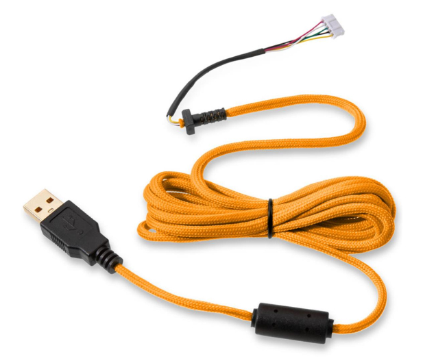 Glorious PC Gaming Race Ascended Cable V2 - Glorious Gold - 595440 - zdjęcie