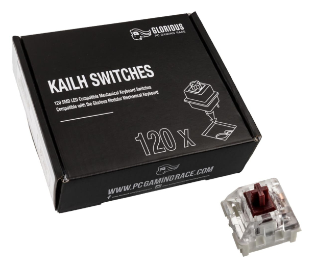 Glorious PC Gaming Race Kailh Speed Copper Switches (120 szt.) - 595779 - zdjęcie
