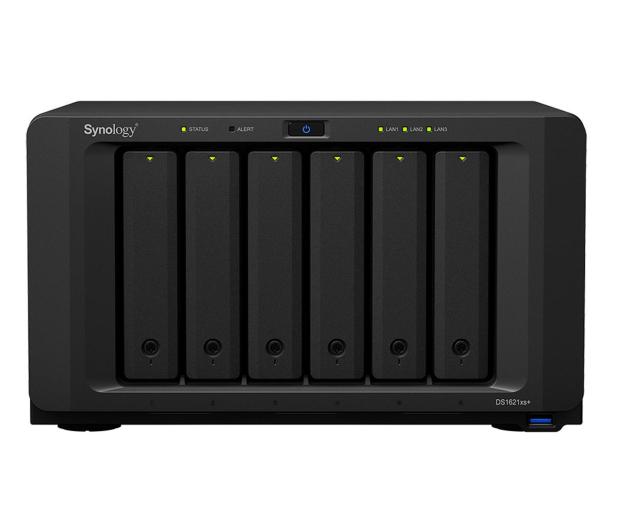 Synology DS1621xs+ (6 zatok, 2x M.2, CPU 4x2.2GHz, 8GB RAM) - 598430 - zdjęcie