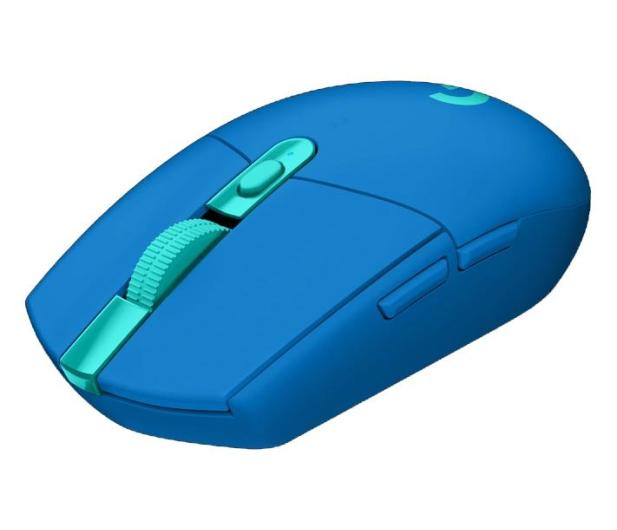 Logitech G305 LIGHTSPEED blue  - 597362 - zdjęcie 3